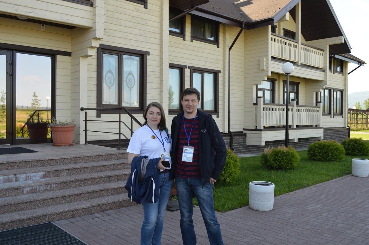 Эксперты АТР в гостях в парк-отеле Алтай Green
