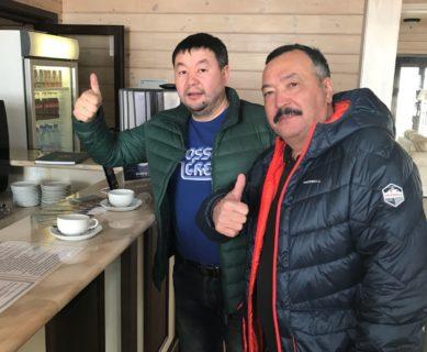 Гости из Казахстана