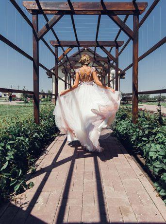 Свадьба цвета марсала в Белокурихе